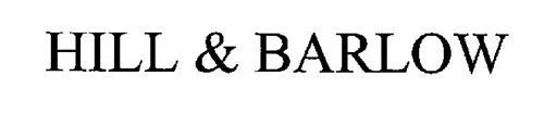 HILL & BARLOW