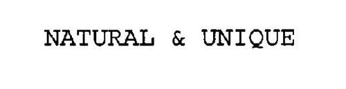 NATURAL & UNIQUE