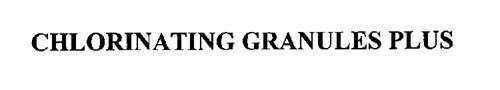CHLORINATING GRANULES PLUS
