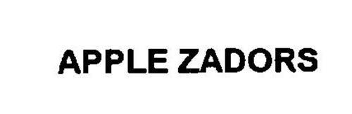 APPLE ZADORS