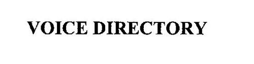 VOICE DIRECTORY
