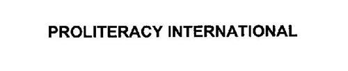 PROLITERACY INTERNATIONAL