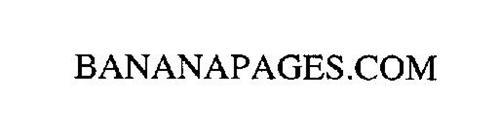 BANANAPAGES .COM