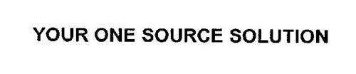 YOUR ONE SOURCE SOLUTION