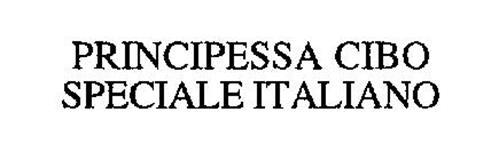 PRINCIPESSA CIBO SPECIALE ITALIANO