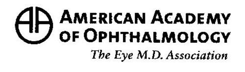 AMERICAN ACADEMY OF OPHTHALMOLOGY THE EYE M.D. ASSOCIATION