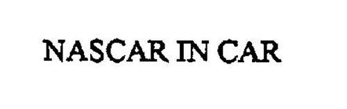 NASCAR IN CAR