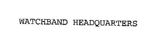 WATCHBAND HEADQUARTERS
