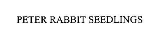 PETER RABBIT SEEDLINGS