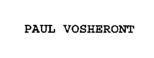 PAUL VOSHERONT