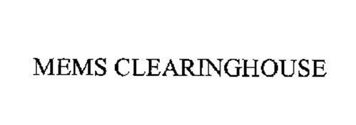 MEMS CLEARINGHOUSE
