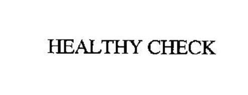 HEALTHY CHECK