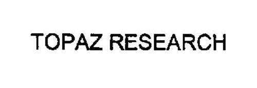 TOPAZ RESEARCH