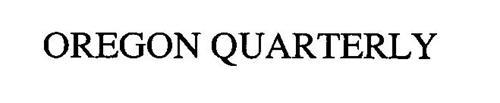 OREGON QUARTERLY