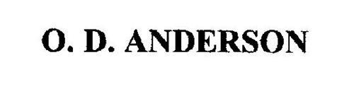 O. D. ANDERSON