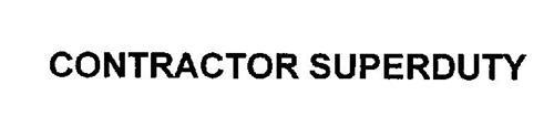 CONTRACTOR SUPERDUTY