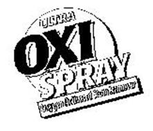 ULTRA OXI SPRAY OXYGEN ACTIVATED STAIN REMOVER