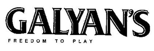 GALYAN'S FREEDOM TO PLAY