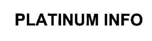PLATINUM INFO