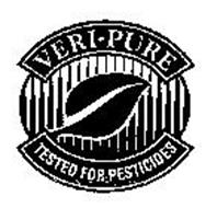 VERI-PURE TESTED FOR CHEMICALS