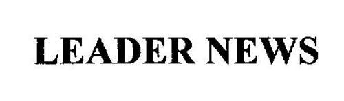 LEADER NEWS