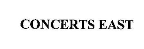 CONCERTS EAST