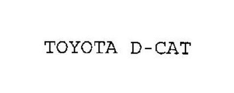 TOYOTA D-CAT