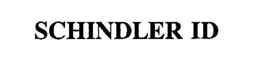 SCHINDLER ID