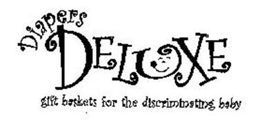 DIAPERS DELUXE GIFT BASKETS FOR THE DISCRIMINATING BABY