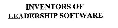 INVENTORS OF LEADERSHIP SOFTWARE
