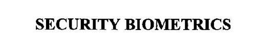 SECURITY BIOMETRICS