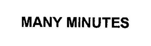 MANY MINUTES
