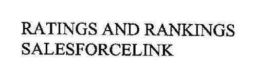 RATINGS AND RANKINGS SALESFORCELINK