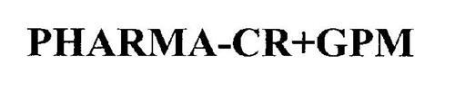 PHARMA-CR+GPM