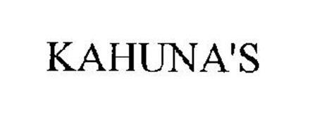 KAHUNA'S