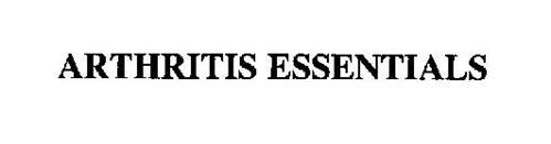 ARTHRITIS ESSENTIALS