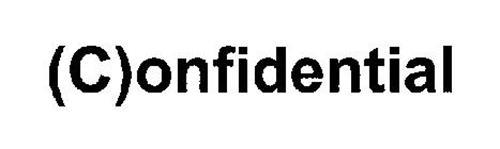 (C)ONFIDENTIAL