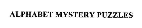 ALPHABET MYSTERY PUZZLES