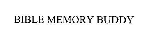 BIBLE MEMORY BUDDY