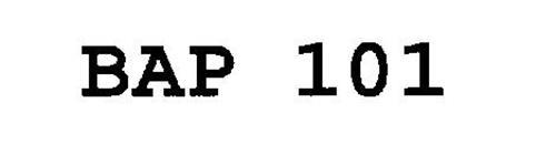 BAP 101