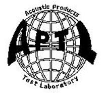 APTL ACOUSTIC PRODUCTS TEST LABORATORY