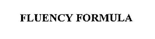 FLUENCY FORMULA