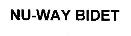 NU-WAY BIDET