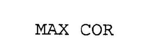 MAX COR