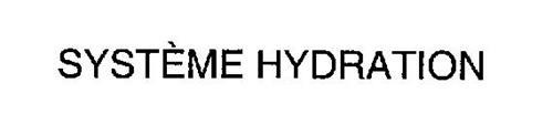 SYSTEME HYDRATION