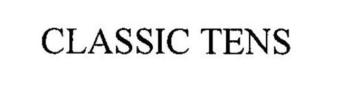 CLASSIC TENS