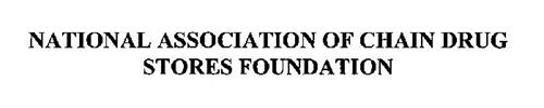 NATIONAL ASSOCIATION OF CHAIN DRUG STORES FOUNDATION