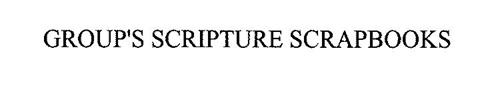 GROUP'S SCRIPTURE SCRAPBOOKS