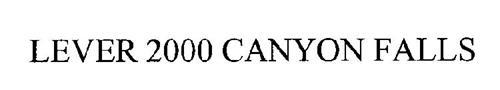 LEVER 2000 CANYON FALLS