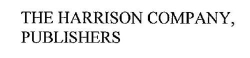 THE HARRISON COMPANY, PUBLISHERS